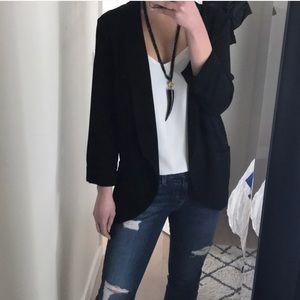 Lush slouchy blazer-S- worn once